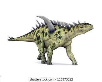 Dinosaur Gigantspinosaurus Computer generated 3D illustration