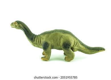 dinosaur toy on a white background