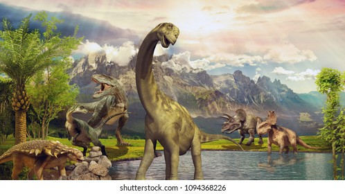 Dinosaur Images Stock Photos Vectors Shutterstock