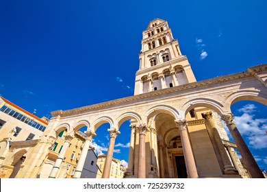 Diocletian palace UNESCO world heritage site in Split, Dalmatia, Croatia