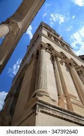 Diocletian's Palace in Split, Croatia