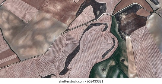 diplomatic,allegory, tribute to Matisse, Picasso, abstract photography of the Spain fields from the air, aerial view, representation of human labor camps, abstract, cubism,abstract naturalism
