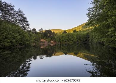 Dipsiz Lake Yalova, Turkey