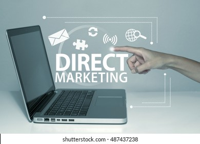 Direct Marketing Business Concept