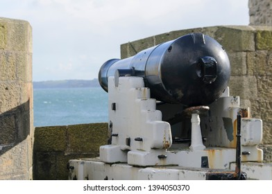 Directional cannon on frame and turntable