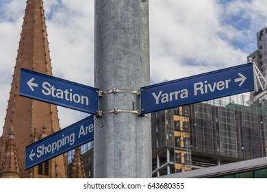 Directional Road Signals in Melbourne