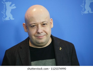 Director Alexey German Poses At The Dovlatov Photo Call During 68th Berlinale International