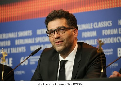 Director Danis Tanovic attends the award winners press conference of the 66th Berlinale Film Festival on February 20, 2016 in Berlin, Germany.