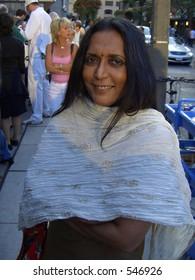 Director Deepa Mehta at Toronto Film Festival