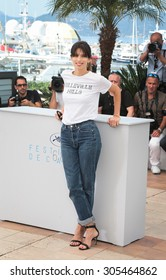 Director Maiwenn Le Besco attend the 'Mon Roi' photocall during the 68th annual Cannes Film Festival on May 17, 2015 in Cannes, France.