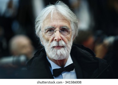 Director Michael Haneke attends the Closing Ceremony & Therese Desqueyroux Premiere during the 65th Annual Cannes Film Festival at Palais des Festivals on May 27, 2012 in Cannes, France.