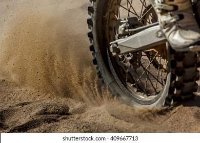 Dirt Bike speeding