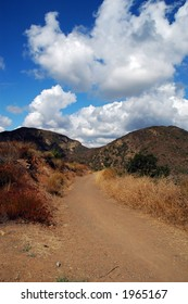 Dirt Road, Cleveland National Forest