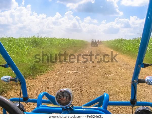Dirt Road Cumayasa Near La Romana Stock Photo Edit Now 496524631