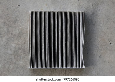 dirty air filter in the car