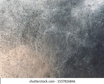 Dirty aluminum plate texture background