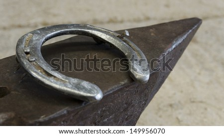 Dirty Anvil Horseshoe Farrier Tools Stock Photo (Edit Now) 149956070