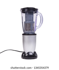 Dirty blender isolated on a white background