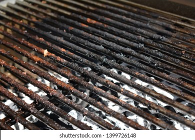 Dirty grill after cooking - Texture