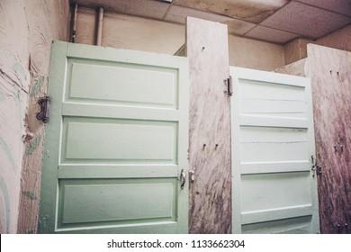 Bathroom Stall Door Images Stock Photos Vectors Shutterstock - Public bathroom stalls
