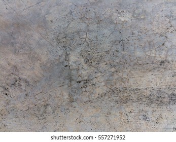 Dirty grungy brown cement floor background and texture