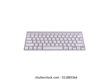 dirty keyboards lack of care on white background focus on the front rear obviously blurred