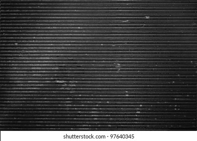 Dirty metal background or texture with highlight