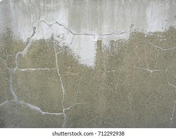 Dirty plaster
