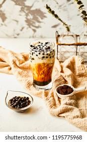 Dirty tea tea dessert