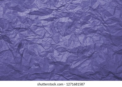 Dirty texture of old crumpled violet paper. Paper textures crumpled backgrounds for design