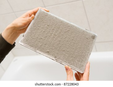 Dirty ventilation system filter