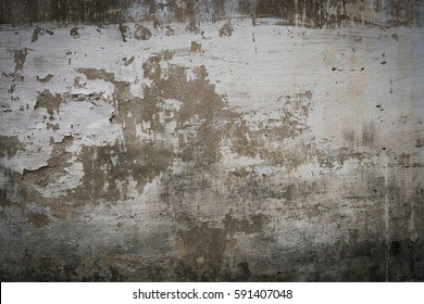 dirty wall of old house