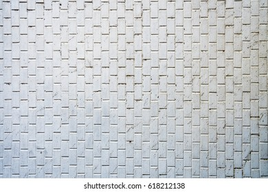 Dirty white tile background wall