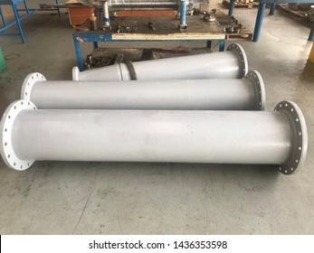 Dis assembly Pipe Columns of vertical pumps.