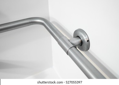 Disabled Access Bathtub Grab Bar Hand Rail in a Hotel Bathroom
