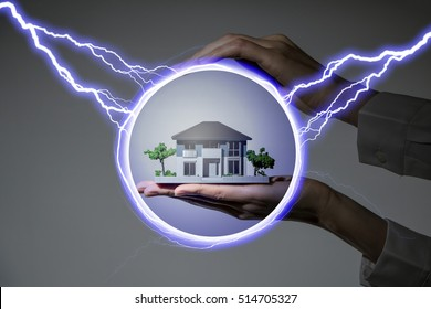 Disaster prevention of house