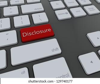 Disclosure 3d keyboard