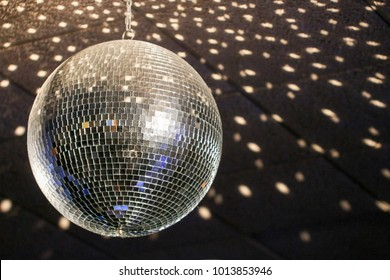 Disco ball Hanging on the wall