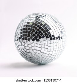 disco ball isolated on a white background