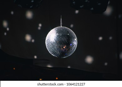 Disco Ball scene for use a background