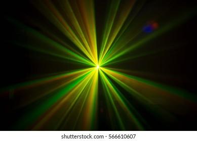 disco laser lights in the dark