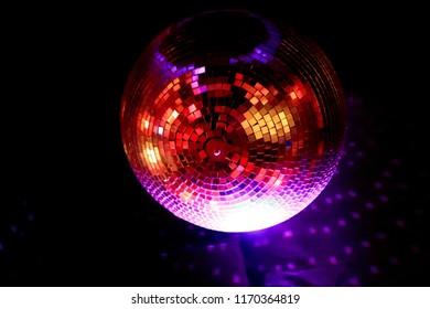 Disco Mirror Ball at Dark Room