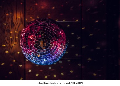 disco-ball and lights