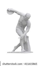Discobolus classical sculpture