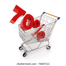 discount in shopping cart - 70%