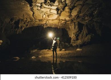"Discover in ""Waipu Cave"""
