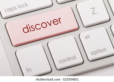 Discover word written on computer keyboard.