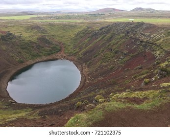 Discovering the Kerid Crater in Iceland