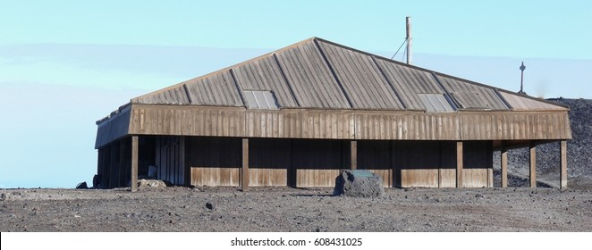 Discovery Hut Hut Point McMurdo Sound