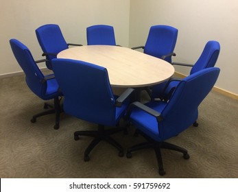 Discussion room at the office